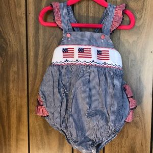 American Flag Ruffle Butt Bubble